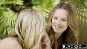 Karla Kush And Jillian Janson Interracial Foursome