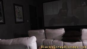 Asian Skank Gets Blacked