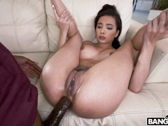 Aaliyah Hadid Threw Her Legs Back And Got Ass Fucked By The Huge Dick