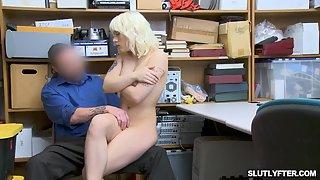 LP Officer Jack Fucking Teen Blonde Suspect Naomi Nash Tight Pussy