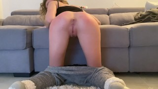 MY BEST FRIEND FUCK MY THIGHT ASS & I GET A CREAMPIE ANAL WHILE I'M PLAYING VIDEOS GAMES