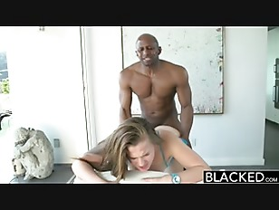 BLACKED 18 Years Old Addicted To Black Cock