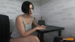 My Hot Stepmom Allowed Me To Touch Only Her Pussy But I Came In Her