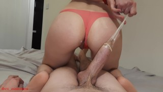 She Wanted My Cum Inside So Badly That She Took The Condom Off And Wouldn't Let Me Pull Out