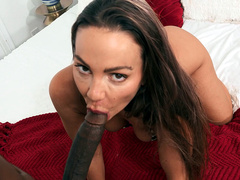 Horny Abigail Mac Hungry For A Big Black Cock