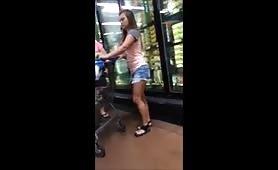 Walmart Teen Jean Shorts Hidden