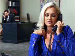 She's A Smooth Operator With Alena Croft And Small Hands   Brazzers HD