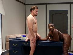 Osa Lovely, Kyle Mason And Xander Corvus Get Caught Fucking At Work