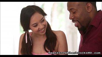 Teen Girl Comforted By A Big Black Cock   TeensLoveBlackCocksHD.com