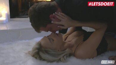 Seductive Blonde In Steamy Erotic Action