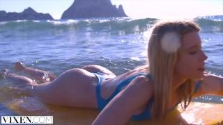 VIXEN Gorgeous Freya Seduces Her Crush With Hot Outdoor Sex