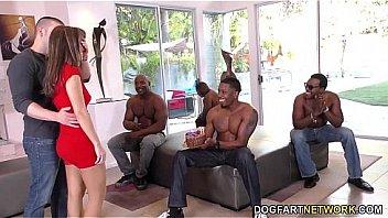 Birthday Gangbang With Sexy Mom Alana Cruise
