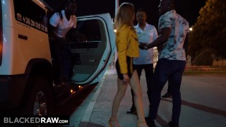 BLACKED RAW   All She Wanted Was To Be Passed Around By 4 Black Guys