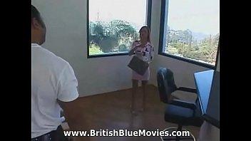 English Babe Gets Black Cock Gang Banged