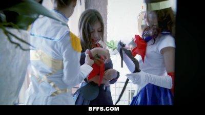 BFFs   Cosplay Teens Have Hardcore Orgy