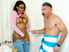 Shy Surprise Starring Halle Hayes And Charles Dera   Reality Kings HD