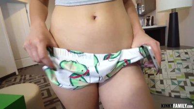 Kinky Family   Lexie Fux   Blogger Stepsis Wants My Dick