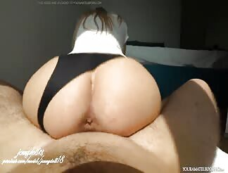 Babe With A Nice Ass Takes A Dick Ride