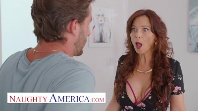 Naughty America   Syren De Mer Gets Young Cock