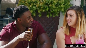 BLACKED Evelyn Claire Takes On Two BBC's