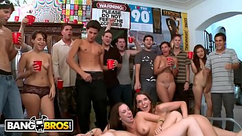 BANGBROS   College Dorm Party With Jennifer Dark, Diamond Kitty & Jada Stevens