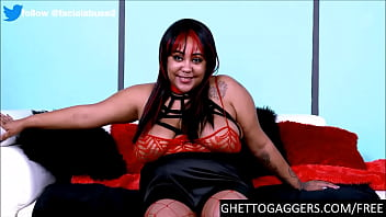 Anal Black BBW Deep Throats White Cocks To Her Limit