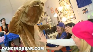 DANCING BEAR   What Happens When Male Strippers Invade A Dorm Room? Find Out!