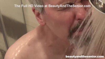 Senior Citizen Takes A Sneak Peek