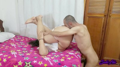 Skinny Man Gives Anal Orgasms To His Chubby Girlfriend   Sodo And Lila