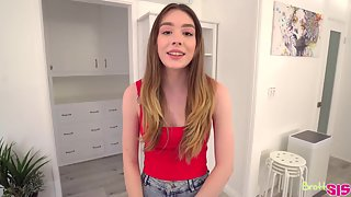 Amazing Good Looking Teen Never Tries Bbc