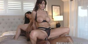 Teen And Milf Craving For Big Black Cocking