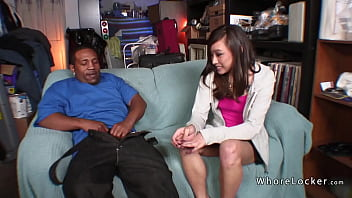 Hot Asian Teen Fucked By Big Black Cock