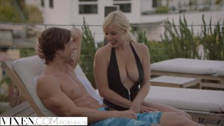 Vixen.com Naughty Blonde Fucks Her Sisters Boyfriend To Make Her Jealous