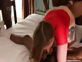 Two Beauties Ravaged In An Orgy