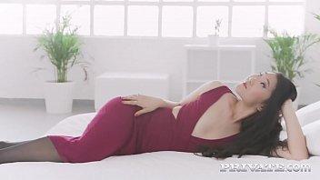Private.com   Sweet Asian Katana Gets Big Black Cock & Cums!