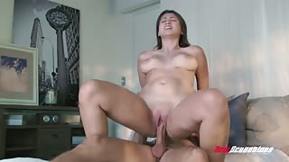 Ivy Rose Takes The Biggest Cock In Her Pussy