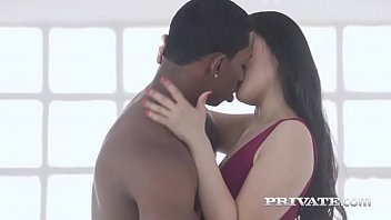 The Asian Katana In Her First Interracial