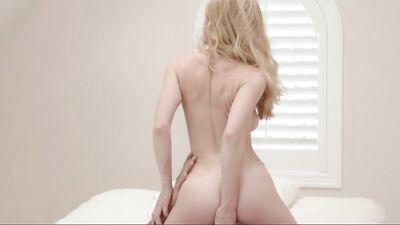 Adorable Vixen Is Bouncing Her Trimmed Pussy On The Older Gentleman's Dick