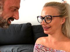 Russian Teen Elizabeth Romanova Gets A Facial From Her Moms New Boyfriend