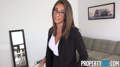 PropertySex   Captain Of Big Boat Bangs Hot Real Estate Agent