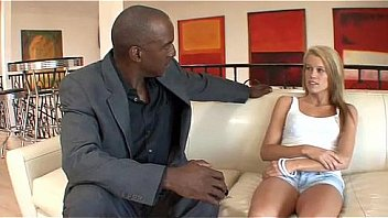 Hot Blonde Teen Gets A Proper Pounding From A BBC